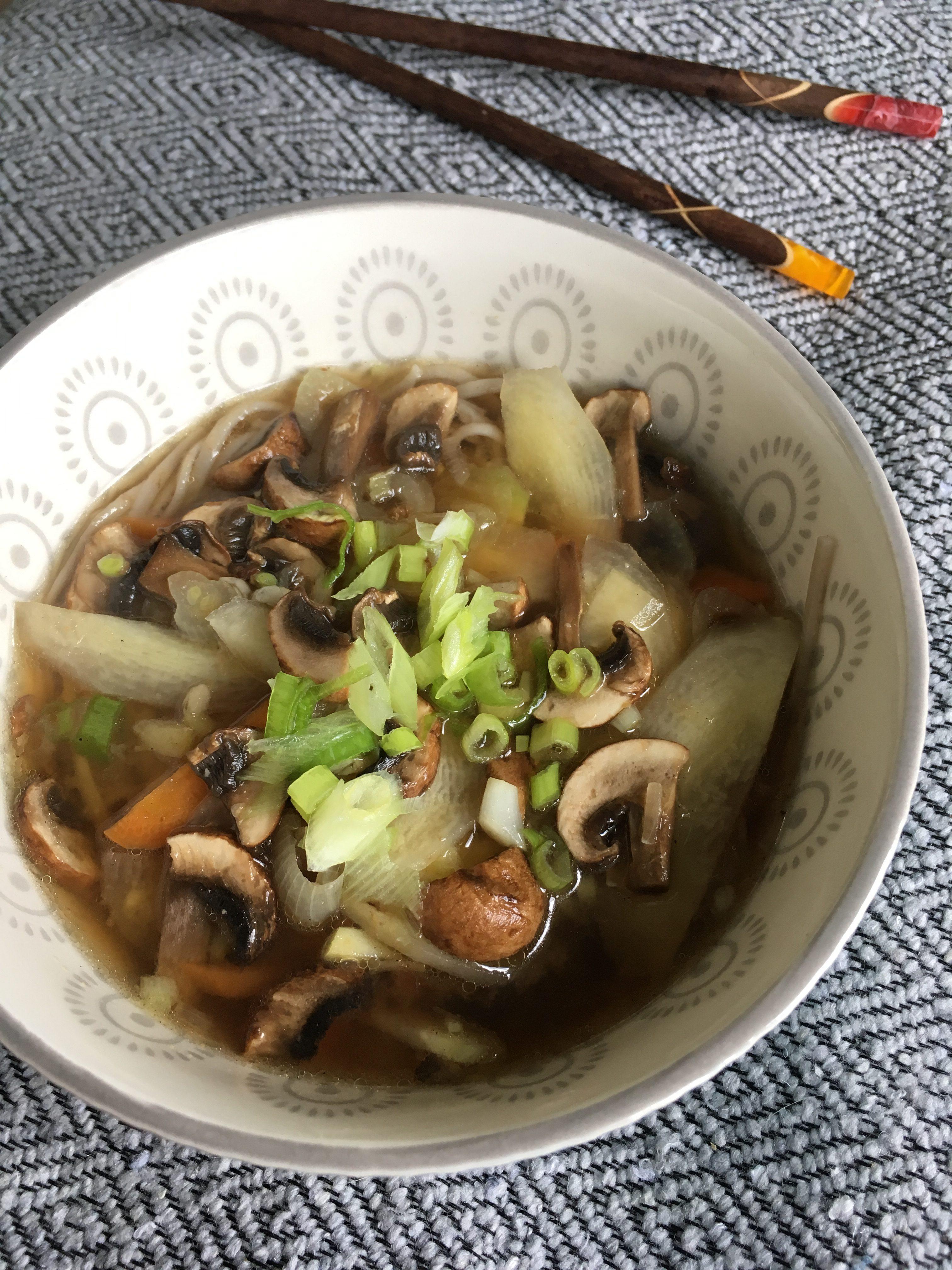 Miso soep met Shitake