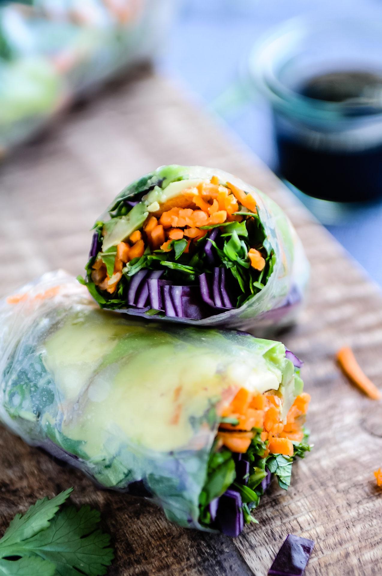 Vegan Spring Rolls 2