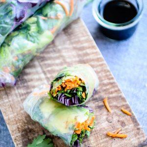 Vegan Spring Rolls 3