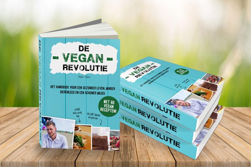 De vegan revolutie het hardcopy boek for Vegan boek