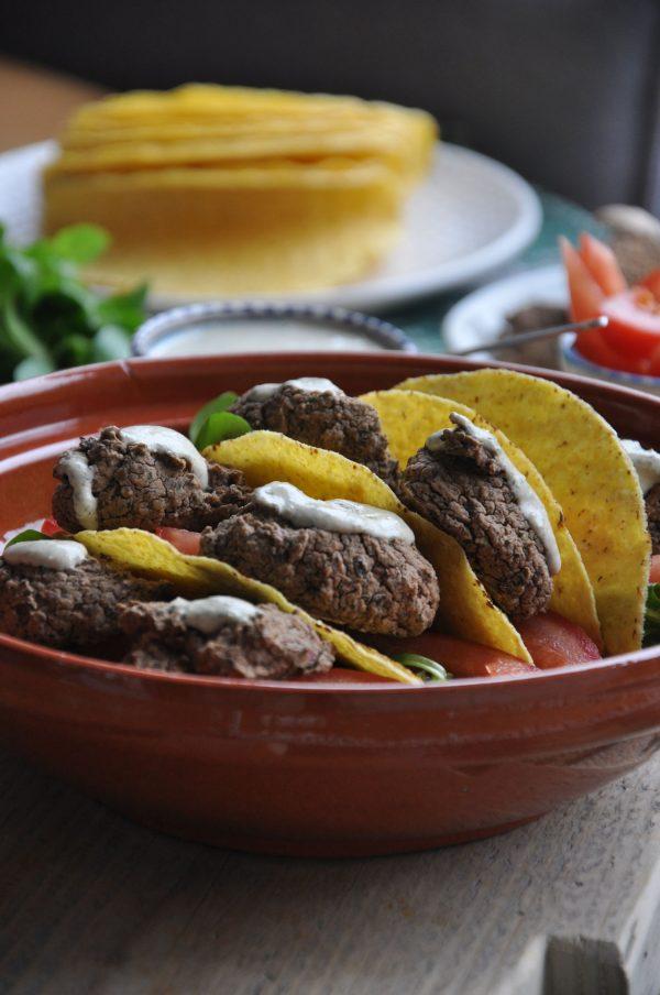 Zwarte Bonen Falafel Taco's met Tahin-Dille Dip 2
