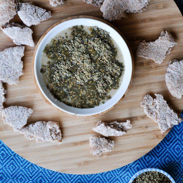 Tahin-Zaatar-Dip-Snack