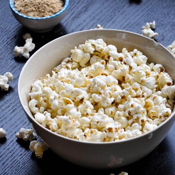 Popcorn-vierkant